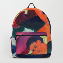 Young Boy With A Lamb, The Good Shepherd - Digital Remastered Edition Backpack