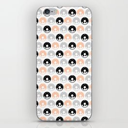 Frosted Donuts - Peach iPhone Skin