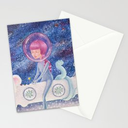 Space Edelweiss Stationery Cards