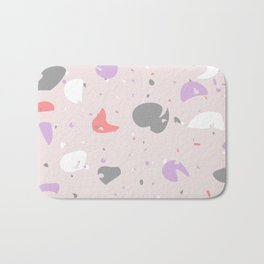 Terrazzo Abstracts Collection, Pattern 7 Bath Mat