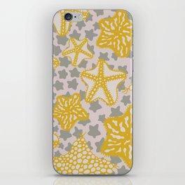 étoile de mer iPhone Skin