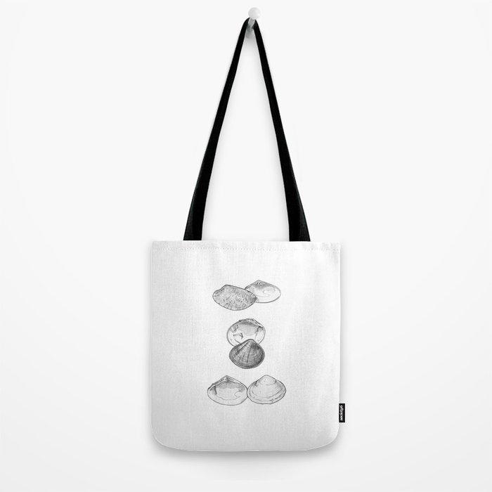 Bivalvia serie 1 Tote Bag