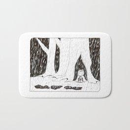 Teeming with rain - Inktober 2017 Bath Mat