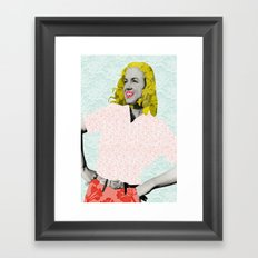 Marilyn Monroe. Framed Art Print