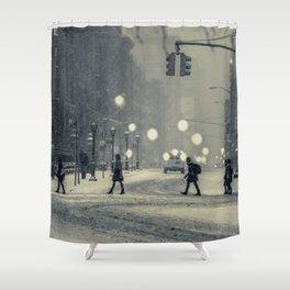 Snow City Shower Curtain