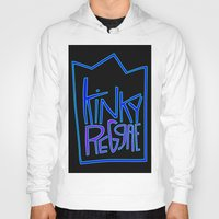 reggae Hoodies featuring kinky reggae by amy darlene