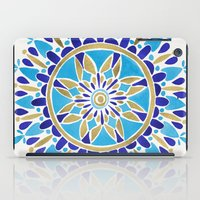 royal iPad Cases featuring Royal Blue Mandala by Cat Coquillette