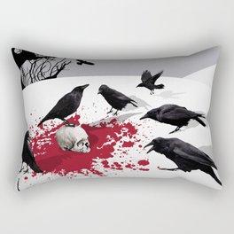 Murder Detail Rectangular Pillow