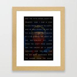 The Fifth Trumpet   3•3 Framed Art Print