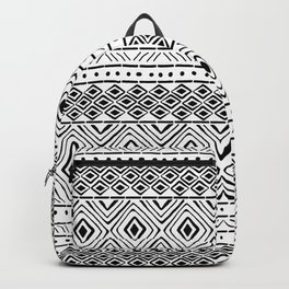 African Mud Cloth Backpack