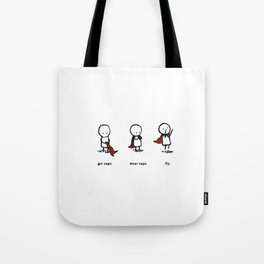 Fly Cape Tote Bag