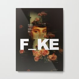 F_ke Metal Print