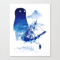 ship Canvas Prints featuring Abandon Ship by Niel Quisaba