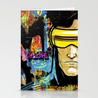 cyclops Stationery Cards featuring Cyclops by Zoé Rikardo