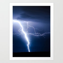 Lightning Strike Art Print