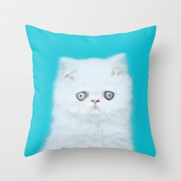 Lord Aries Cat - Photography 001 Throw Pillow