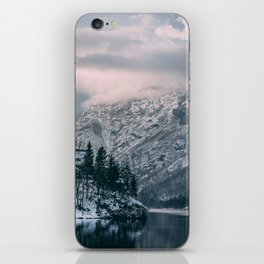 Moody Lake Bohinj iPhone Skin