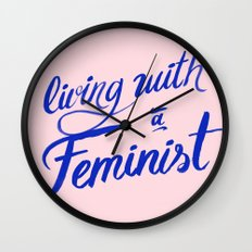 Living with a feminist Wall Clock