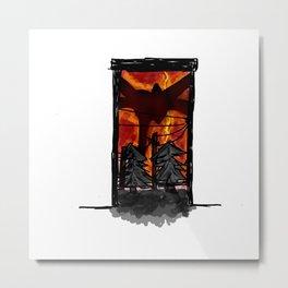 Mind flayer -V1 Metal Print