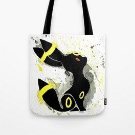 Umbreon Splash Silhouette Tote Bag