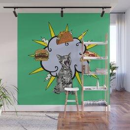 Cat Food Wall Mural