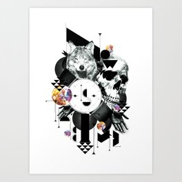 Now is the time Art Print