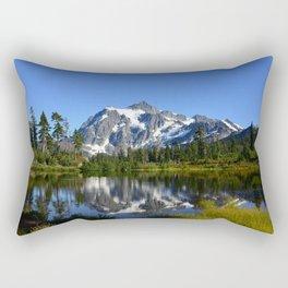 Mount Shuksan - View from Picture Lake Rectangular Pillow