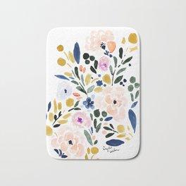 Sierra Floral Bath Mat