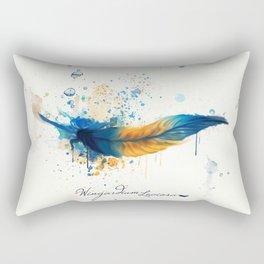Wingardium Leviosa Rectangular Pillow