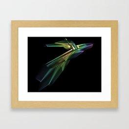 Polynomial design Framed Art Print