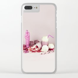 Sweet pink doom - still life Clear iPhone Case