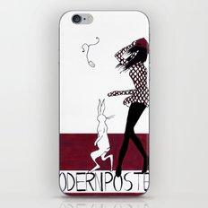 MODERN POSTER iPhone & iPod Skin