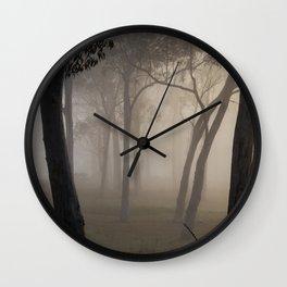 Ebeneezer trees Wall Clock
