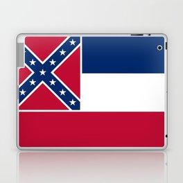 Mississippi State Flag, HQ image Laptop & iPad Skin