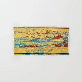 Wooden deck. Hand & Bath Towel