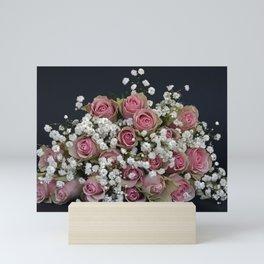 Roses Rose Flower Flowers Mini Art Print
