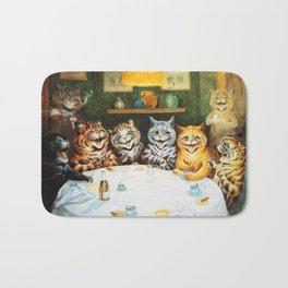 Kitty Happy Hour - Louis Wain's Cats Bath Mat