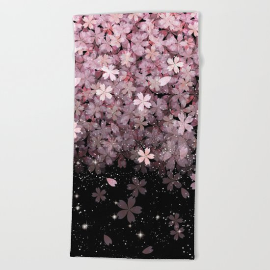 Cherry blossom #11 Beach Towel