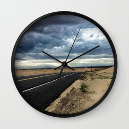 Road to Isolation Wall Clock