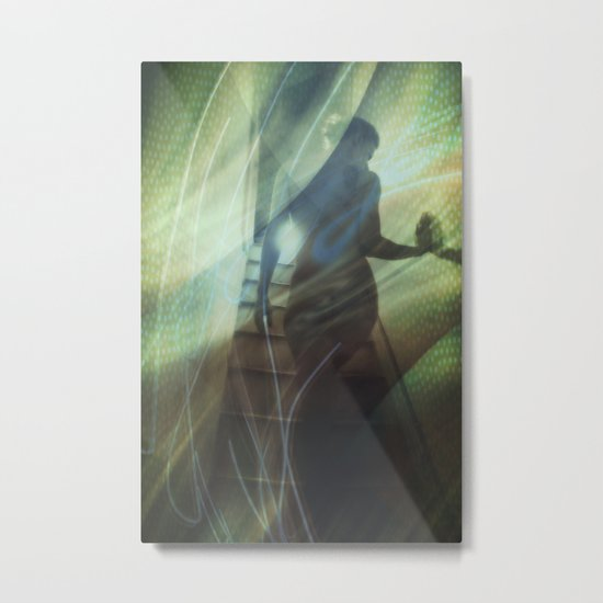 Electric Woman Metal Print