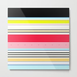 Delicious Rainbow Metal Print