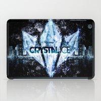 """tatoo iPad Cases featuring Tatoo Ink """"Black Lotus"""" by CRYSTAL_ICE"""