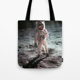 Moon landing 4 Tote Bag