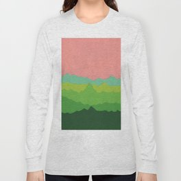 Green Mountains I Long Sleeve T-shirt