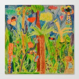 Paradise Delight | Kids Painting by Elisavet Canvas Print