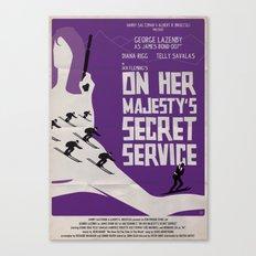 On Her Majesty's Secret Service Canvas Print