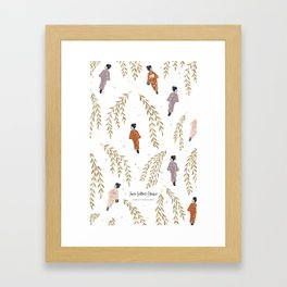 Kinosaki Girls Framed Art Print