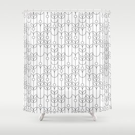 The grapevine Shower Curtain