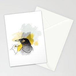 Myna, Birds of Thailand Stationery Cards
