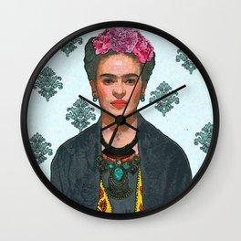 Trendy Frida Kahlo V.2 Wall Clock